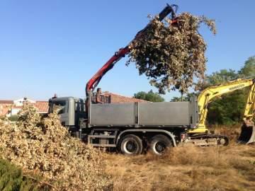 L'évacuation des déchets verts
